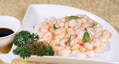 西湖的水家常的美味 教你做龙井虾仁