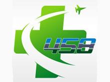 中国人民解放军第四五八医院logo