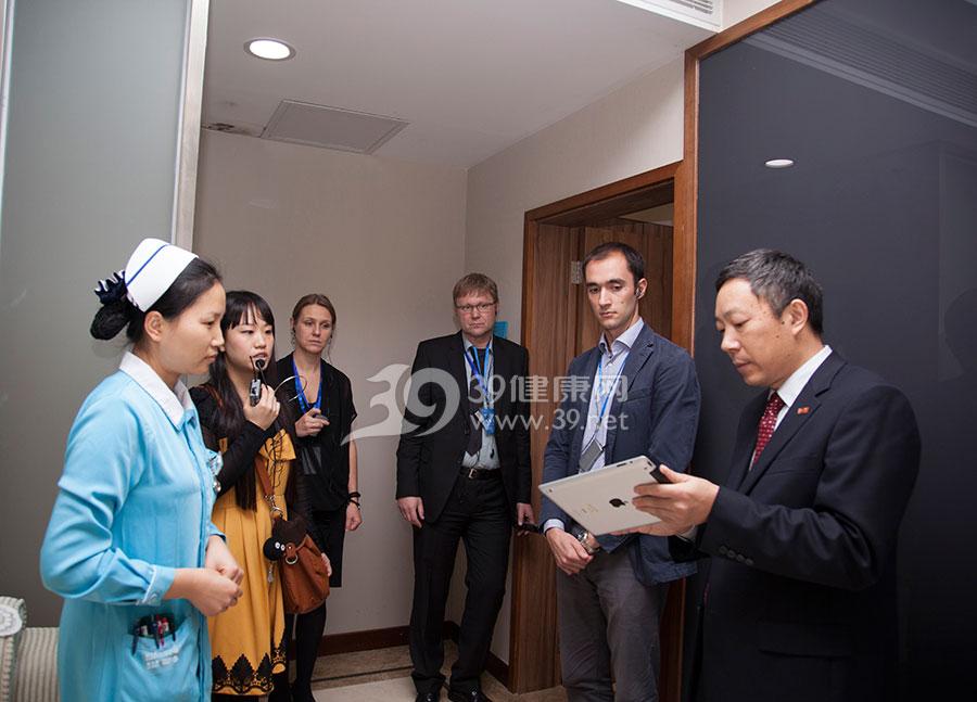 参观数字化病房