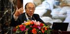 中国医学救援协会常务副会长兼秘书长李宗浩作《中国医学救援的现状与发展》的报告