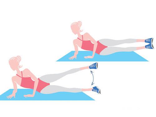 5组减肥动作 雕塑全身曲线(图)