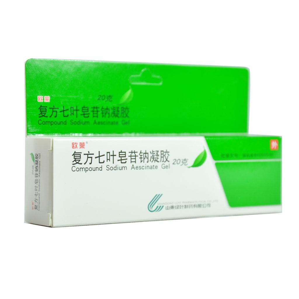 复方七叶皂苷钠凝胶