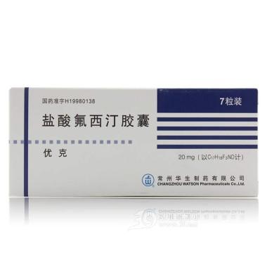 盐酸氟西汀胶囊(优克)