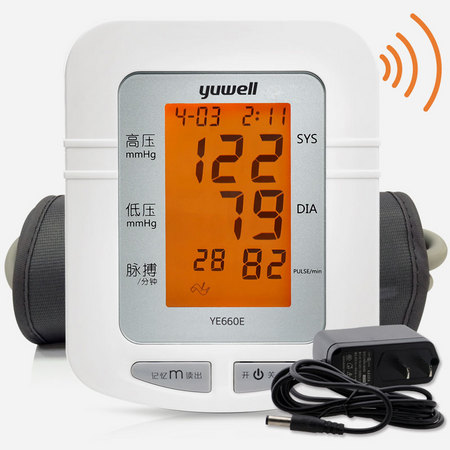 鱼跃yuwell 臂式电子血压计 品牌经典 YE660E