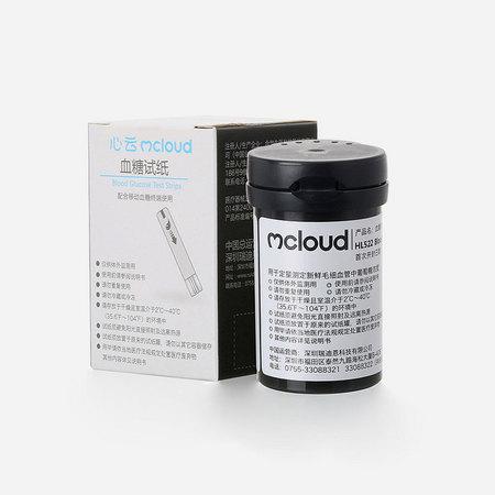 心云Mcloud 血糖试纸套装 50支试纸+50支采血针 HL522-A2