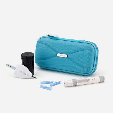 心云Mcloud 血糖仪套装B 送采血笔+收纳包+50支血糖试纸+50支采血针 XY-511-B