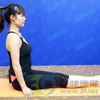 滑翔式产后瘦腹瑜伽1
