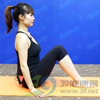 滑翔式产后瘦腹瑜伽2