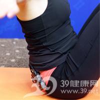 滑翔式产后瘦腹瑜伽6
