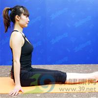 扭转式产后瘦腹瑜伽1