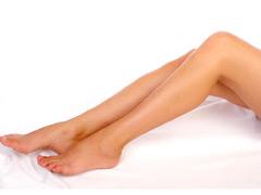 刮肝经瘦腿