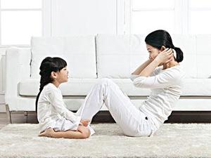 女性锻炼腹肌可预防盆腔炎