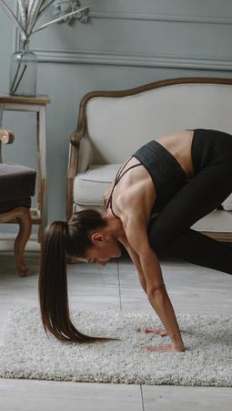 坐姿伸展式减肥瑜伽 坐着就瘦身 瑜伽减肥 第2张