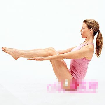 五分钟减肥瑜伽 轻松塑造迷人曲线(图) 瑜伽减肥 第2张
