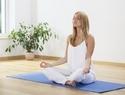 腰侧弯式瑜伽