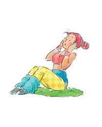 呼吸减肥法