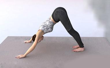 最有效的六个瘦腿瑜伽动作 瑜伽减肥 第6张