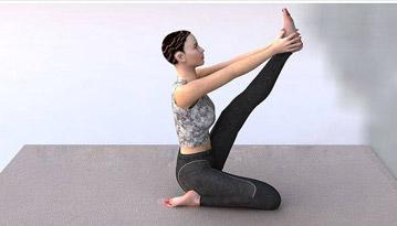 最有效的六个瘦腿瑜伽动作 瑜伽减肥 第1张