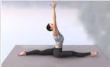 最有效的六个瘦腿瑜伽动作 瑜伽减肥 第2张