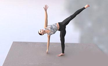 最有效的六个瘦腿瑜伽动作 瑜伽减肥 第5张