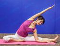 穗式瑜伽瘦腰