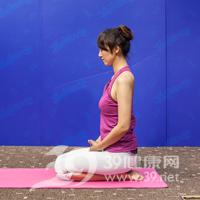 腰侧弯式瘦腰瑜伽7