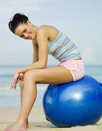 减肥动作瘦身