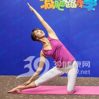 门闩式瘦腰瑜伽5