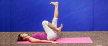 下期主题:门闩式瘦腰瑜伽
