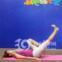 门闩式瘦腰瑜伽7