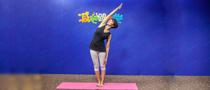 下期主题:风吹树式瘦腿瑜伽