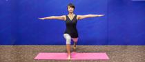 下期主题:鸳鸟式瘦腿瑜伽