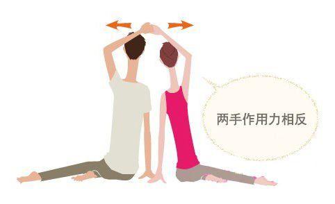 夫妻双人减肥运动