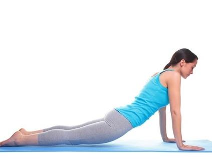 提臀的运动图解瑜伽