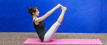 下期主题:V式瘦腿瑜伽