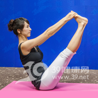 V式瘦腿瑜伽5