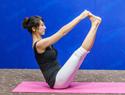 V式瑜伽瘦大腿
