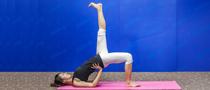 下期主题:斜式变形式瘦腿瑜伽