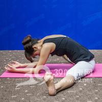 坐角式瘦腿瑜伽8