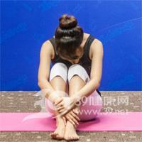 坐角式瘦腿瑜伽6