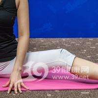 坐角式瘦腿瑜伽7