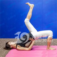 斜式变形式瘦腿瑜伽8