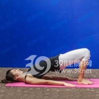 斜式变形式瘦腿瑜伽3