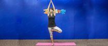 下期主题:树式瘦腿瑜伽