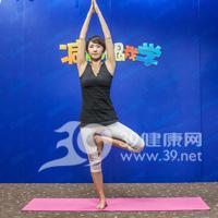 树式瘦腿瑜伽5