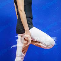 树式瘦腿瑜伽7