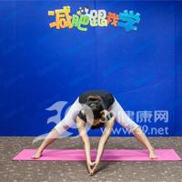 金字塔式瘦腿瑜伽4
