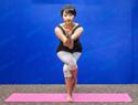 鸟王式瑜伽瘦腿
