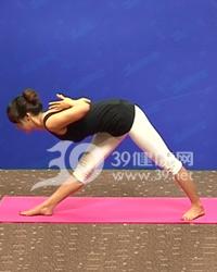 瘦腿减肥瑜伽系列