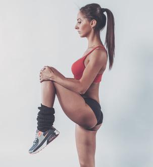 三型瘦腿瑜伽一个月后生效(照片)